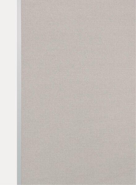 rolgordijn uni transparant taupe uni transparant - 7410641 - HEMA