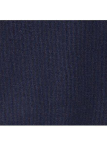 kinder t-shirt - biologisch katoen donkerblauw 170/176 - 30729267 - HEMA