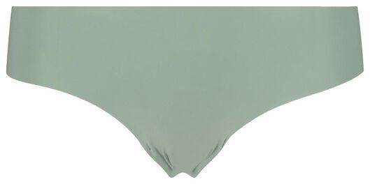 damesbrazilian micro groen groen - 1000018313 - HEMA