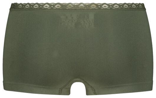 damesboxer naadloos groen groen - 1000021595 - HEMA