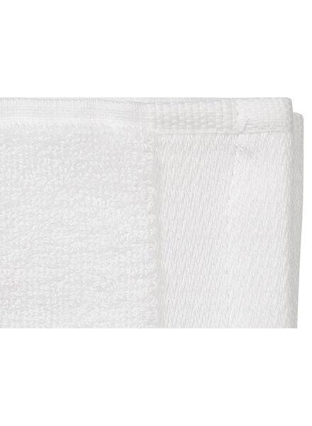 handdoeken - met bamboe wit wit - 1000015124 - HEMA