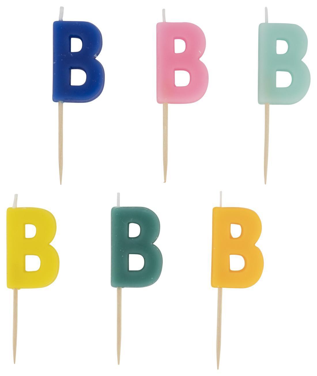 HEMA Taartkaarsje - Letter B
