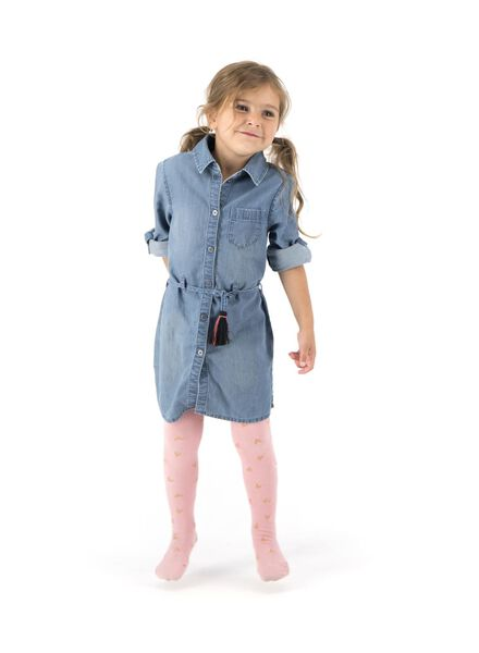 kinderjurk denim denim - 1000013532 - HEMA