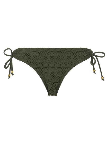 dames bikinislip olijf - 1000006819 - HEMA