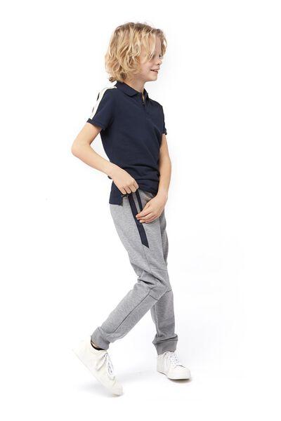 kinderpolo donkerblauw donkerblauw - 1000017707 - HEMA