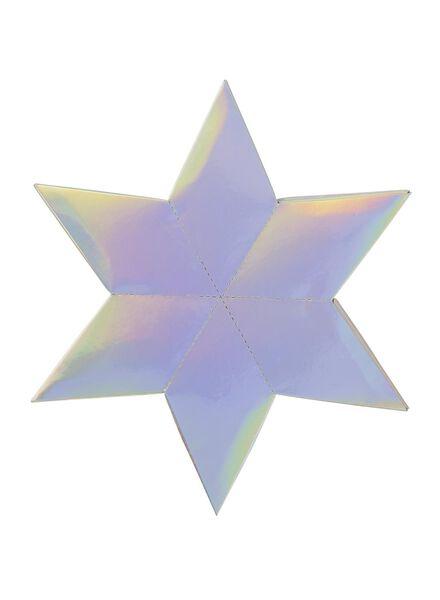 feestwens ster met spel - 25250032 - HEMA