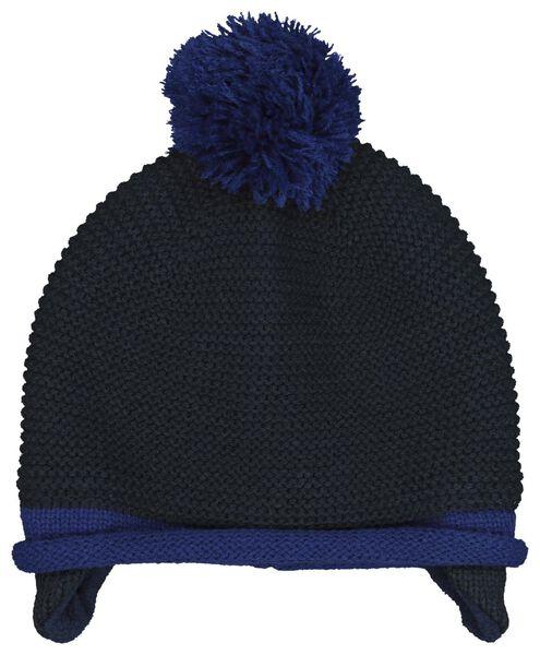 babymuts blauw blauw - 1000020310 - HEMA