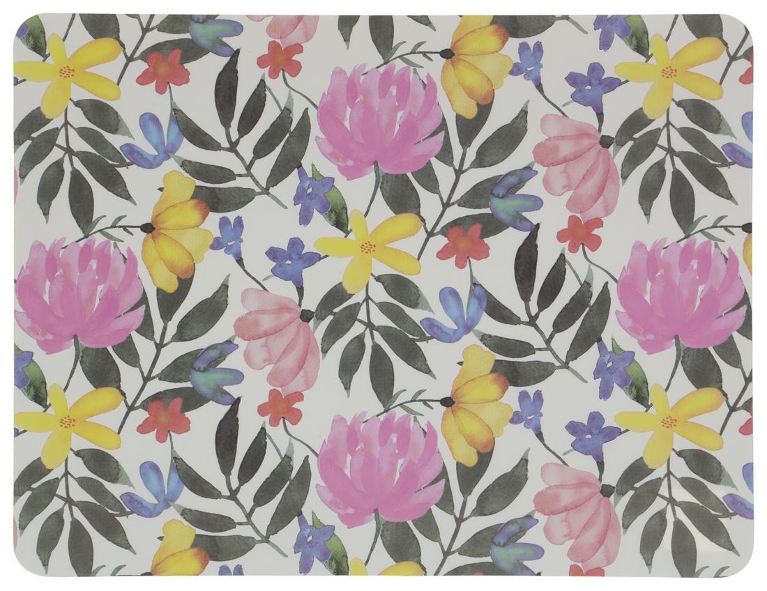 HEMA Placemat 32x42 Kunststof Bloemen