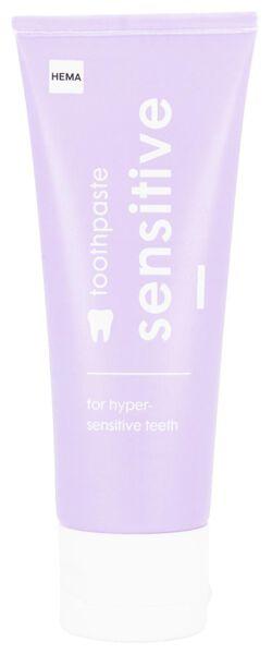 tandpasta sensitive 75 ml - 11130023 - HEMA