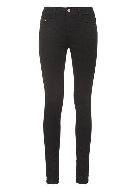 dames jeans zwart zwart - 1000005216 - HEMA