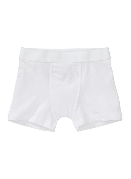 3-pak kinder boxers wit wit - 1000001254 - HEMA