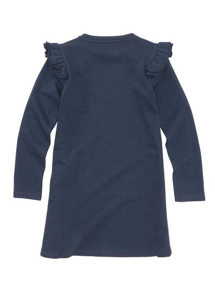 kinderjurk donkerblauw donkerblauw - 1000005883 - HEMA