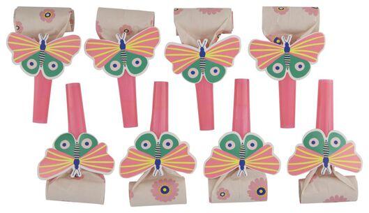 roltongen vlinder - 8 stuks - 14200421 - HEMA