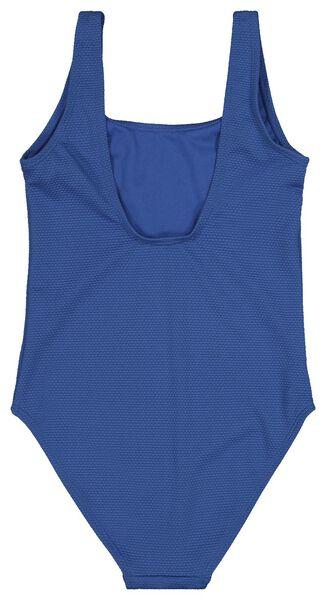 kinderbadpak middenblauw middenblauw - 1000018207 - HEMA
