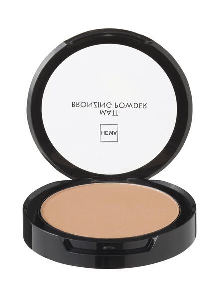 matt bronzing powder light - 11294001 - HEMA