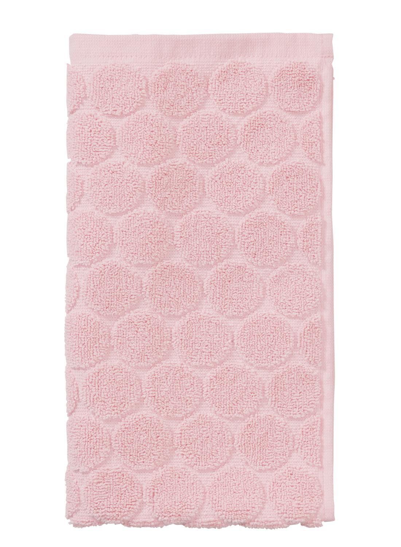 Image of Gastendoek - 30 X 55 Cm - Zware Kwaliteit - Roze Stip (roze)