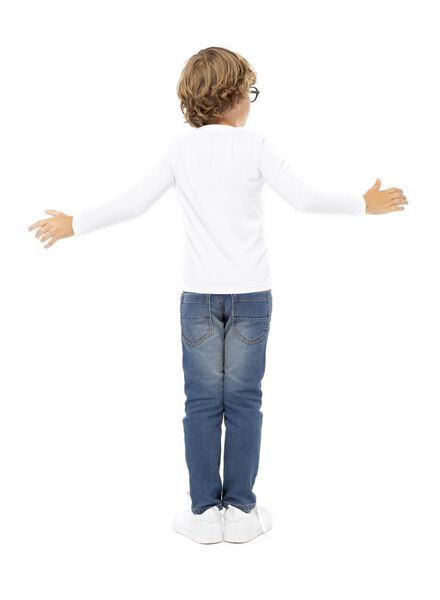 jongens regular fit broek denim denim - 1000003249 - HEMA