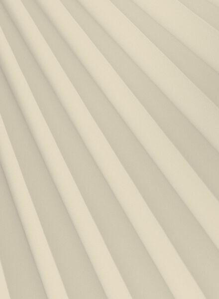 plisségordijn uni transparant 20 mm - 7430075 - HEMA