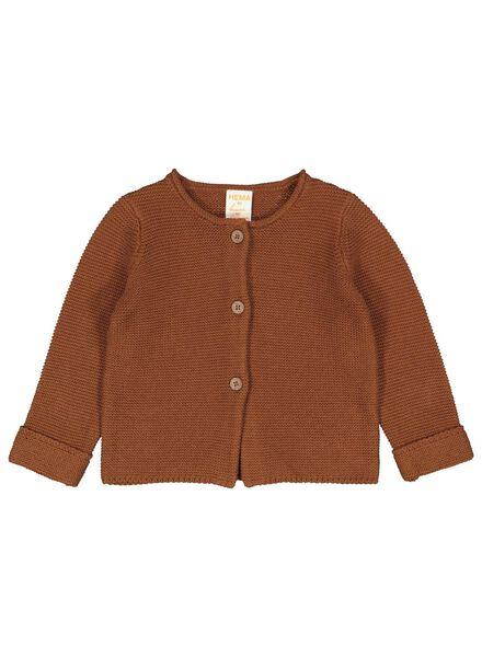 babyvest bruin bruin - 1000014316 - HEMA