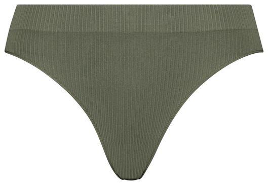B.A.E. damesbrazilian rib naadloos groen groen - 1000019931 - HEMA