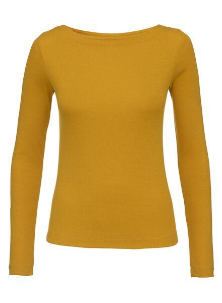damestrui geel geel - 1000008707 - HEMA