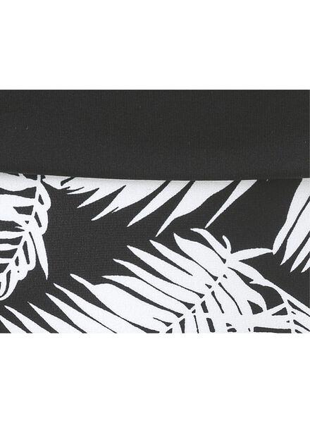 damesbikinislip zwart/wit zwart/wit - 1000006613 - HEMA