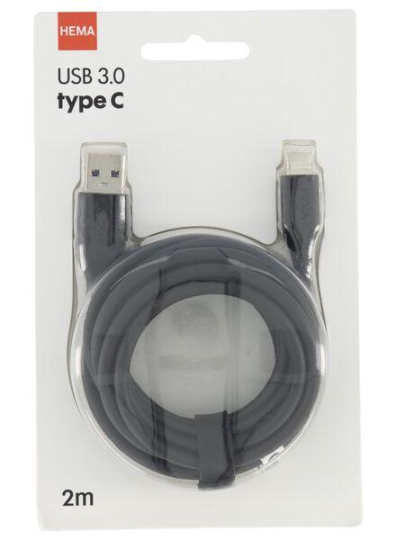 laadkabel USB 3.0 / type C - 39630130 - HEMA
