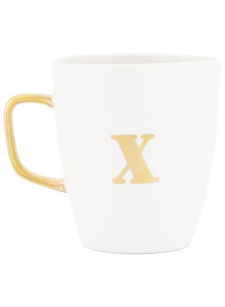 mok letter x wit X - 60030073 - HEMA