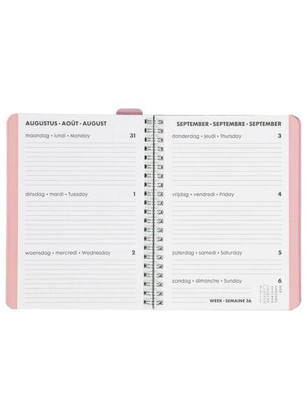 agenda 2020 - 18 x 14.5 cm - meertalig - 14600235 - HEMA