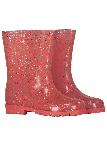 kinderregenlaarzen roze roze - 1000013550 - HEMA