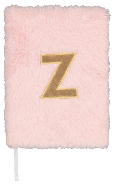 Notitieboek A5 fluffy letter Z