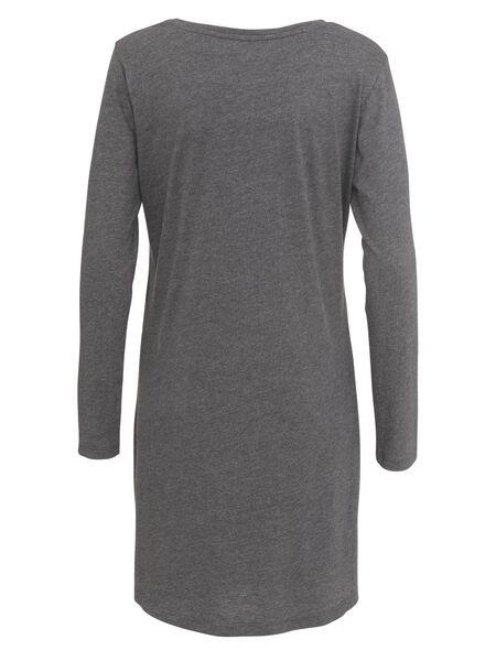 damesnachthemd grijs grijs - 1000002910 - HEMA