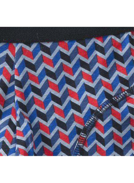 herenboxer kort blauw blauw - 1000009182 - HEMA