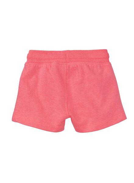 baby sweatbroek fluor roze fluor roze - 1000010928 - HEMA
