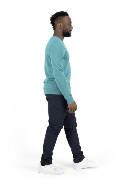herensweater groen groen - 1000017632 - HEMA