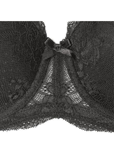 padded bh E-F zwart zwart - 1000002344 - HEMA
