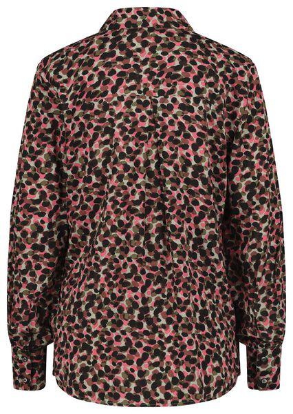 damesblouse roze M - 36248392 - HEMA