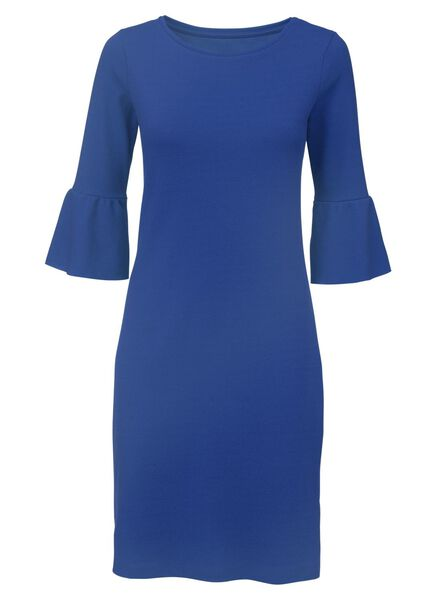 damesjurk kobaltblauw - 1000007742 - HEMA
