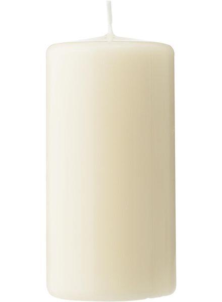 stompkaarsen ivoor ivoor - 1000015637 - HEMA