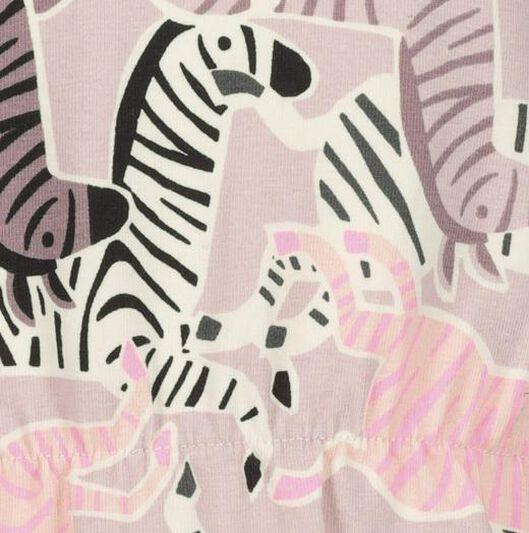 kinder sweatjurk zebra multi multi - 1000020669 - HEMA