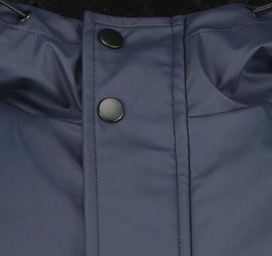 herenjas met capuchon donkerblauw donkerblauw - 1000020766 - HEMA