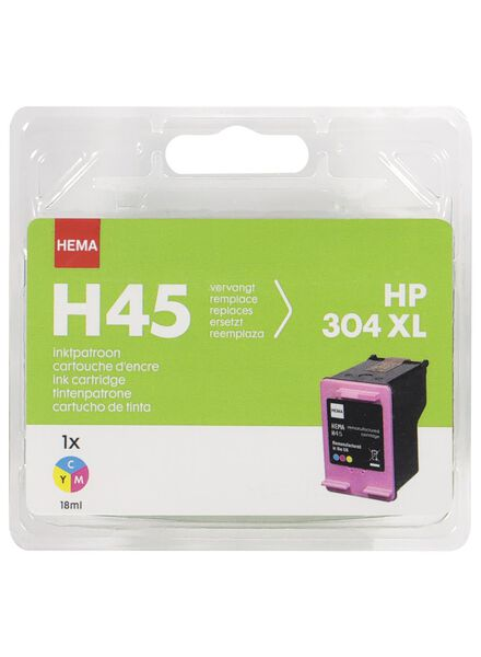 HEMA H45 kleur vervangt HP 304XL kleur - 38399225 - HEMA