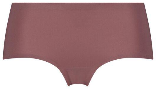 dames boxer second skin micro roze L - 19699974 - HEMA