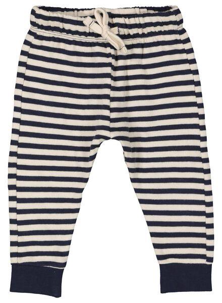 baby sweatbroek blauw blauw - 1000014939 - HEMA