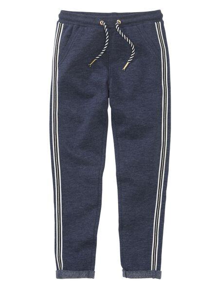 kinder sweatbroek middenblauw middenblauw - 1000011193 - HEMA