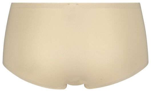 damesboxer naadloos micro beige XS - 19606191 - HEMA
