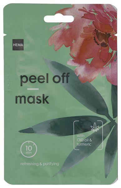peel off masker CBD olie & kurkuma 10ml - 17800060 - HEMA
