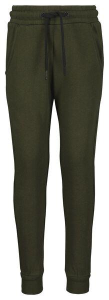 kinder sweatbroek groen groen - 1000017750 - HEMA
