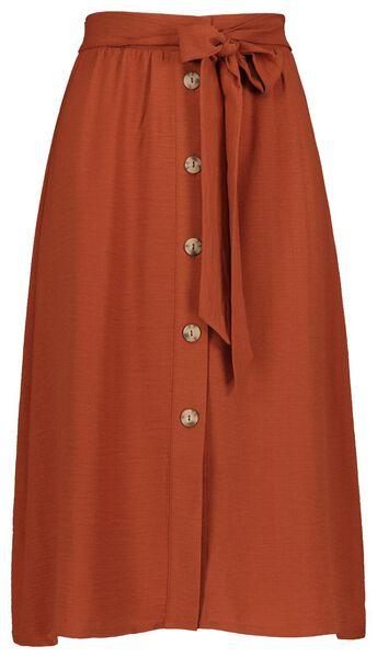 damesrok bruin bruin - 1000019645 - HEMA
