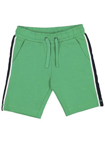 kinder sweatshort groen groen - 1000013669 - HEMA